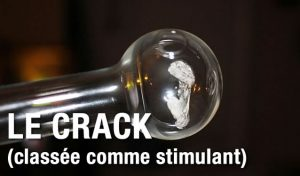 crack in a pipe